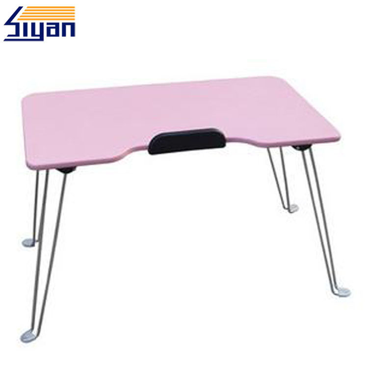 Overbed Dining Adjustable Table Top PVC Film Surface With 330*470mm Size
